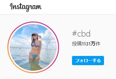 Instagram-CBD検索数