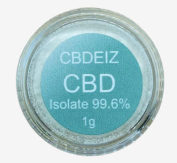 CBDEIZE(シービーデイズ)CBDアイソレートパウダー
