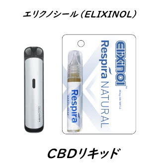 エリクノシール(ELIXINOL)CBDリキッド