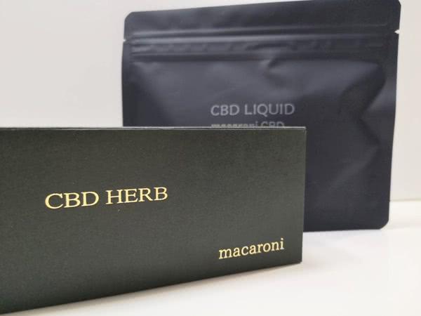 マカロニCBD通販で購入できるCBD商品